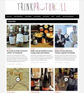 Trinkprotokoll - Werbeplattform - Bannerwerbung auf Trinkprotokoll - Webentwicklung